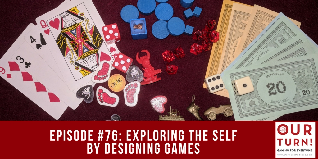 Episode #76: Exploring The Self By Designing Games