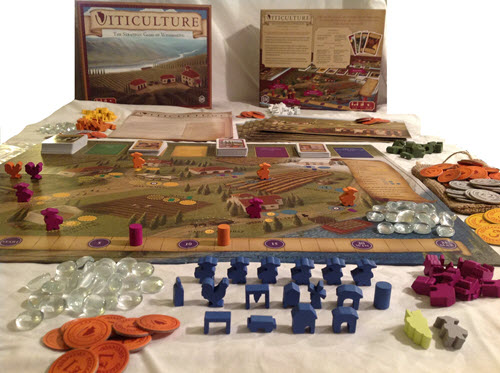 Viticulture board & components