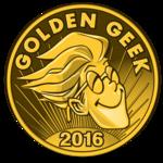 The Golden Geek Award 2016