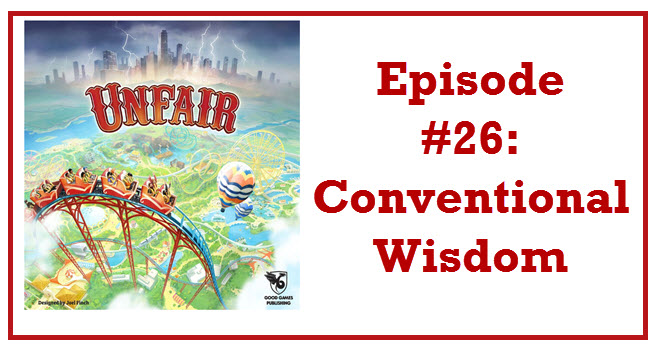 Episode #26: Conventional Wisdom - In this episode Frank and I talk about our experiences at ConQuest Sac, Sarah and Will talk about Game Design, and I talk with Josie Noronha about her experiences at about QGCon.