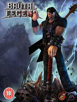 Brutal Legend is a hybrid of the action-adventure and real-time strategy genres, includes Stage Battles in both the single-player and multiplayer mode, where the player must command troops to defeat their foes while defending their own stage.