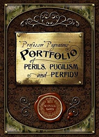 Professor Pugnacious' Portfolio of Perils, Pugilism, and Perfidy: The Card Game of Victorian Combat