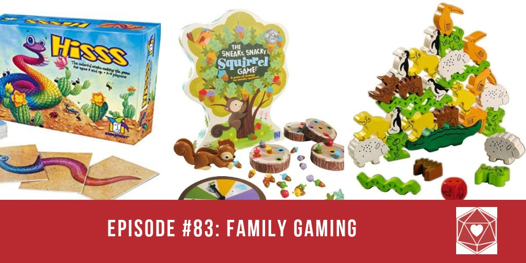 Episode #83: Family Gaming