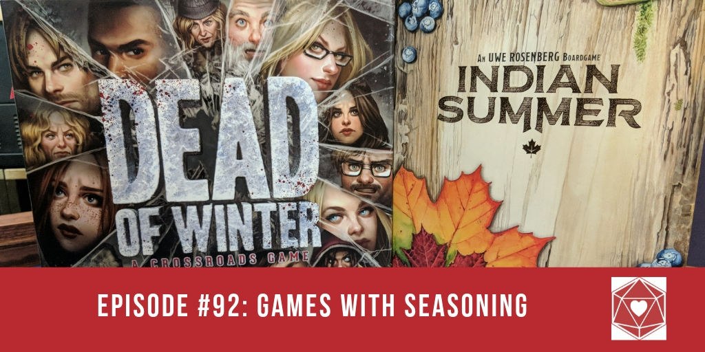 Episode #92: Games, With Seasoning!