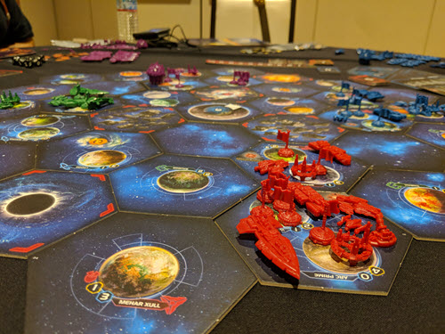 Twilight Imperium IV at Rage Con 2018