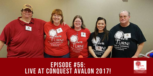 Episode #56: LIVE at ConQuest Avalon 2017