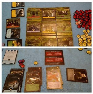 Pics of the Board and Cards for Monarch